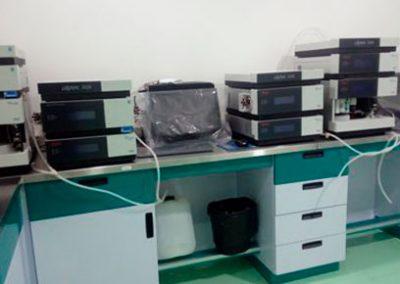 Cromatógrafos de líquidos (HPLC) Ultimate 3000.